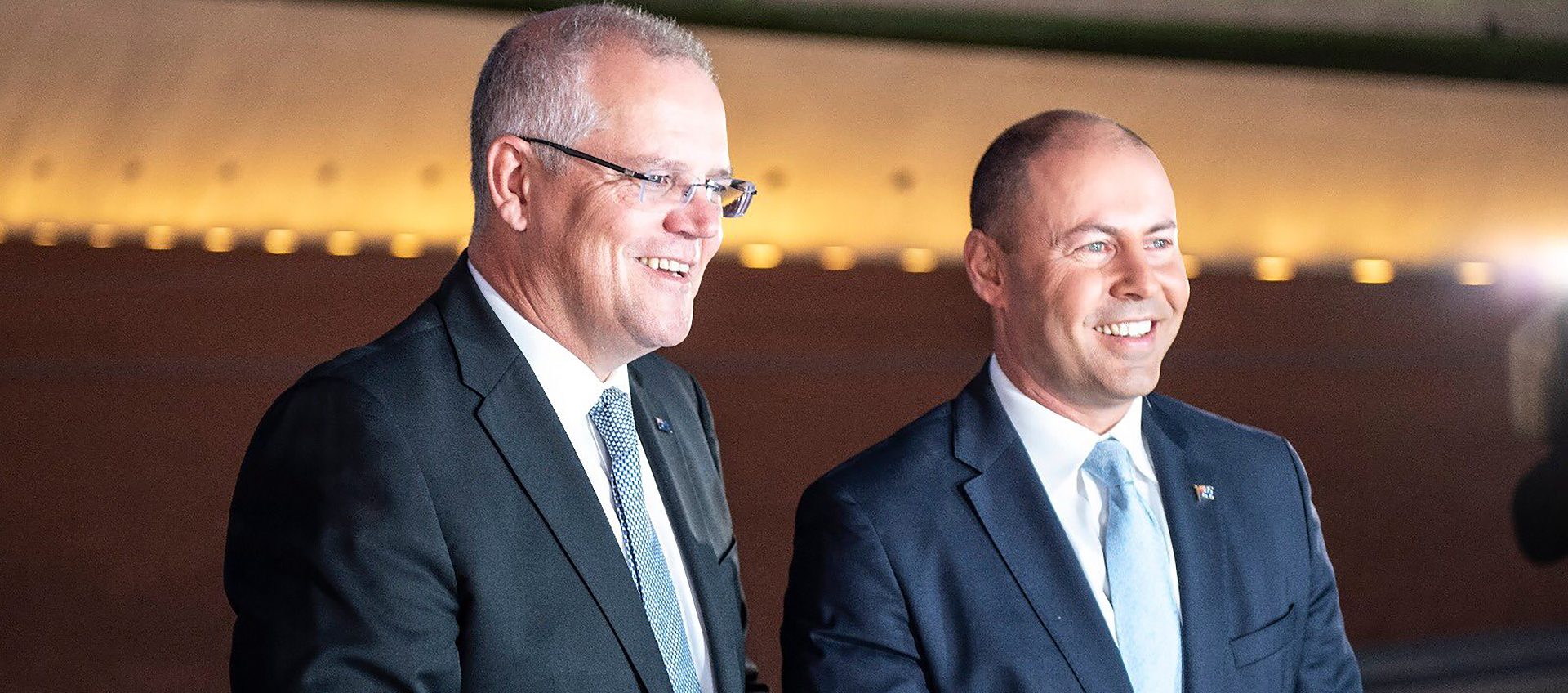 Scott Morrison and Josh Frydenberg announce the 2019 Federal Budget.