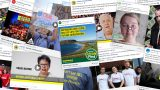 A selection of the Facebook ads being run by parties in the lead-up to the Federal Election.
