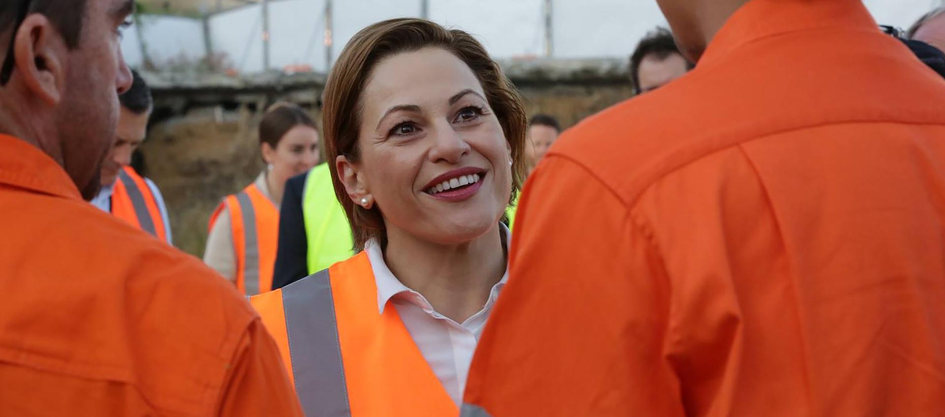 Queensland Treasurer Jackie Trad has spoken ahead of the State Budget.