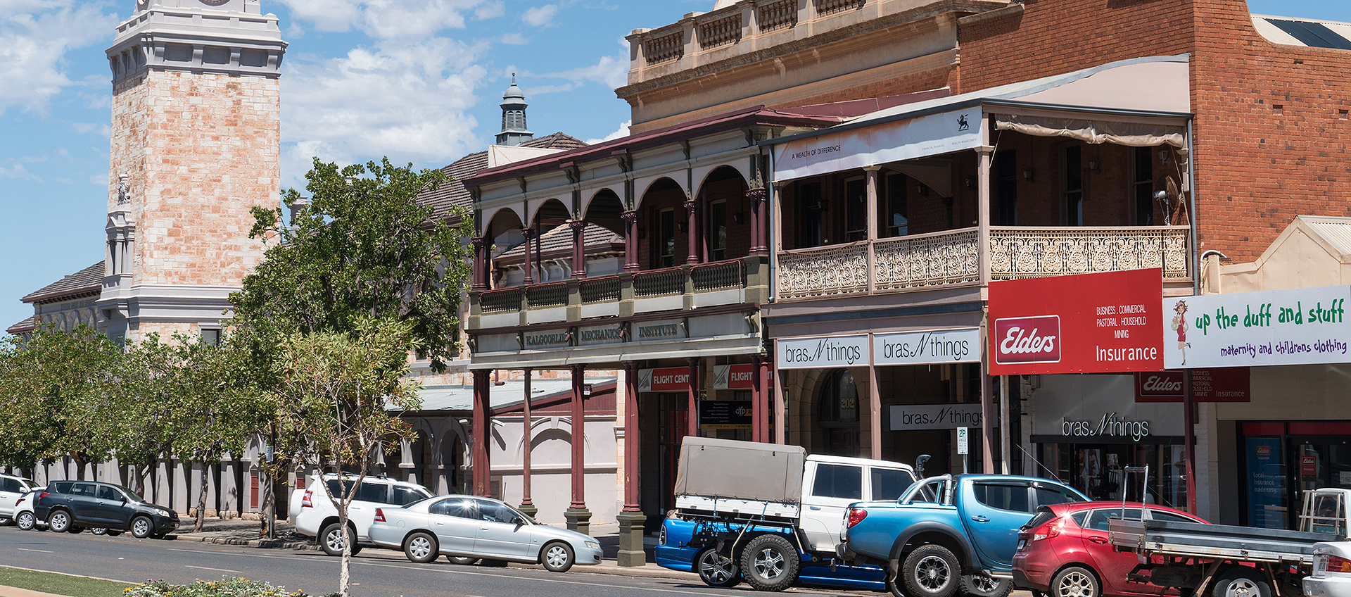 Kalgoorlie-Boulder's main strip is undergoing significant change.