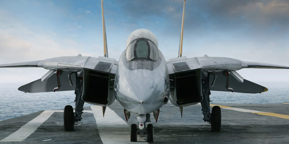 Rare earths are key components of defence hardware - including jet fighters.