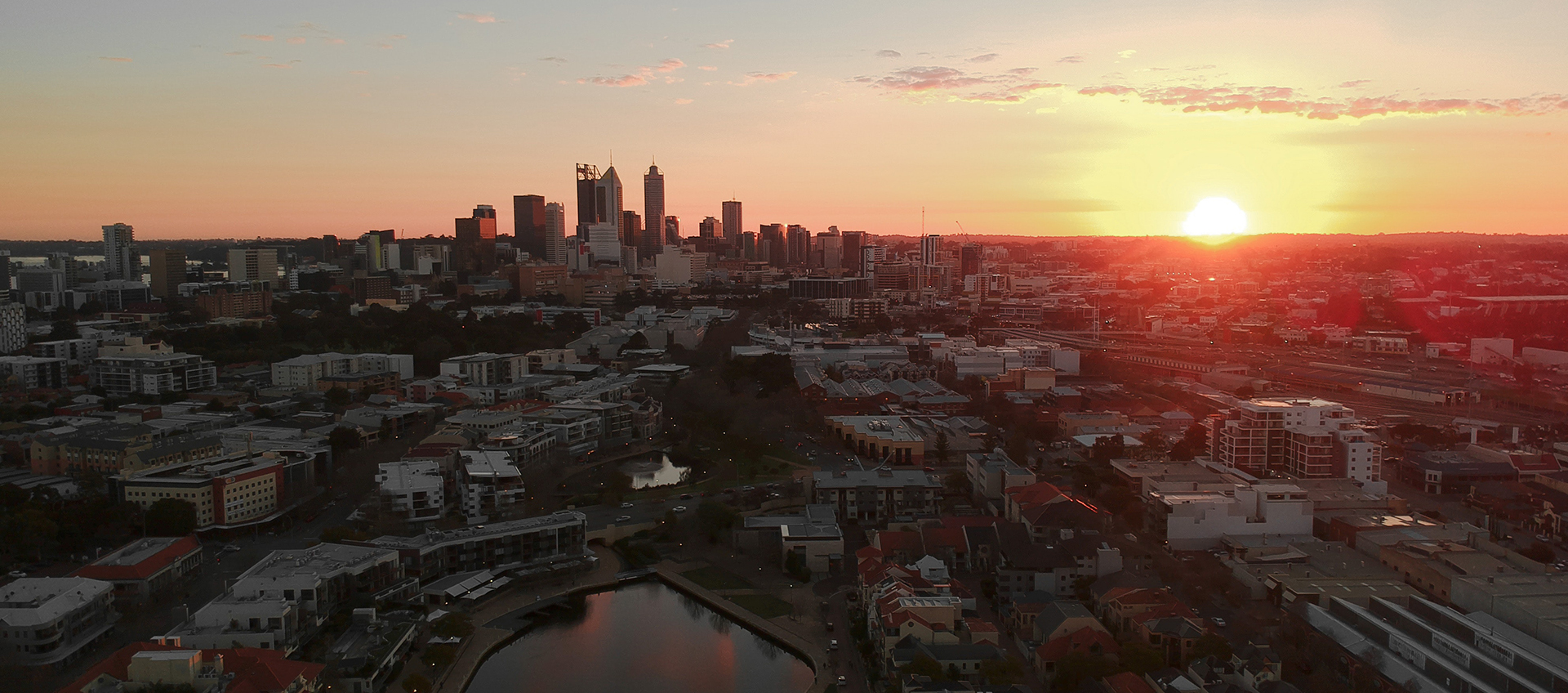 Image showing Perth city skyline