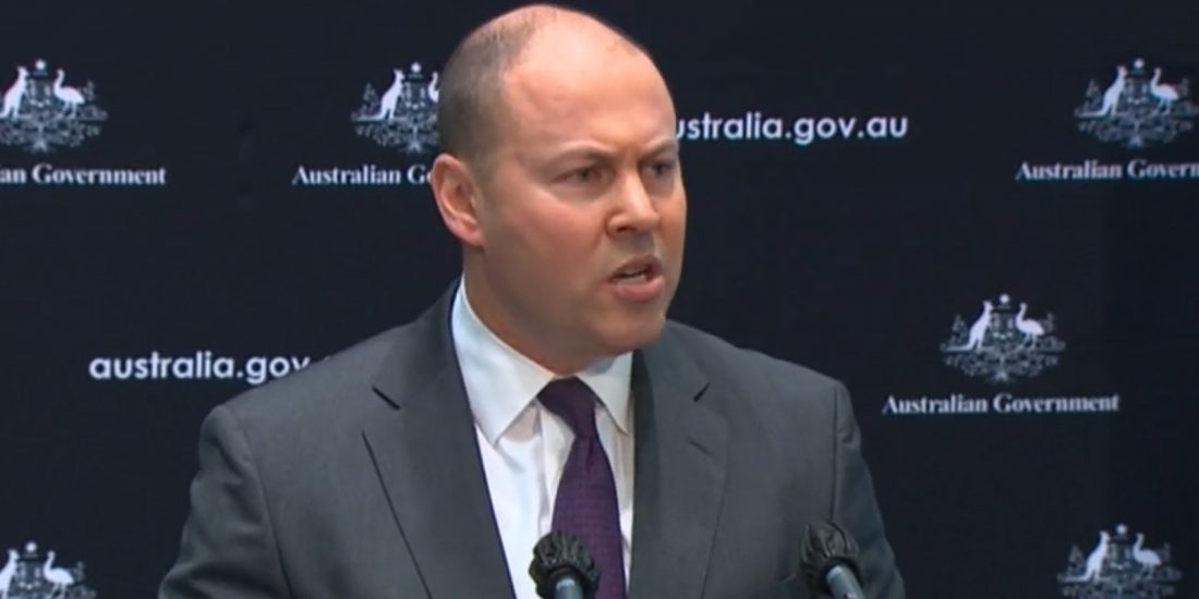 Photo to go with story on Treasurer's national debt speech story