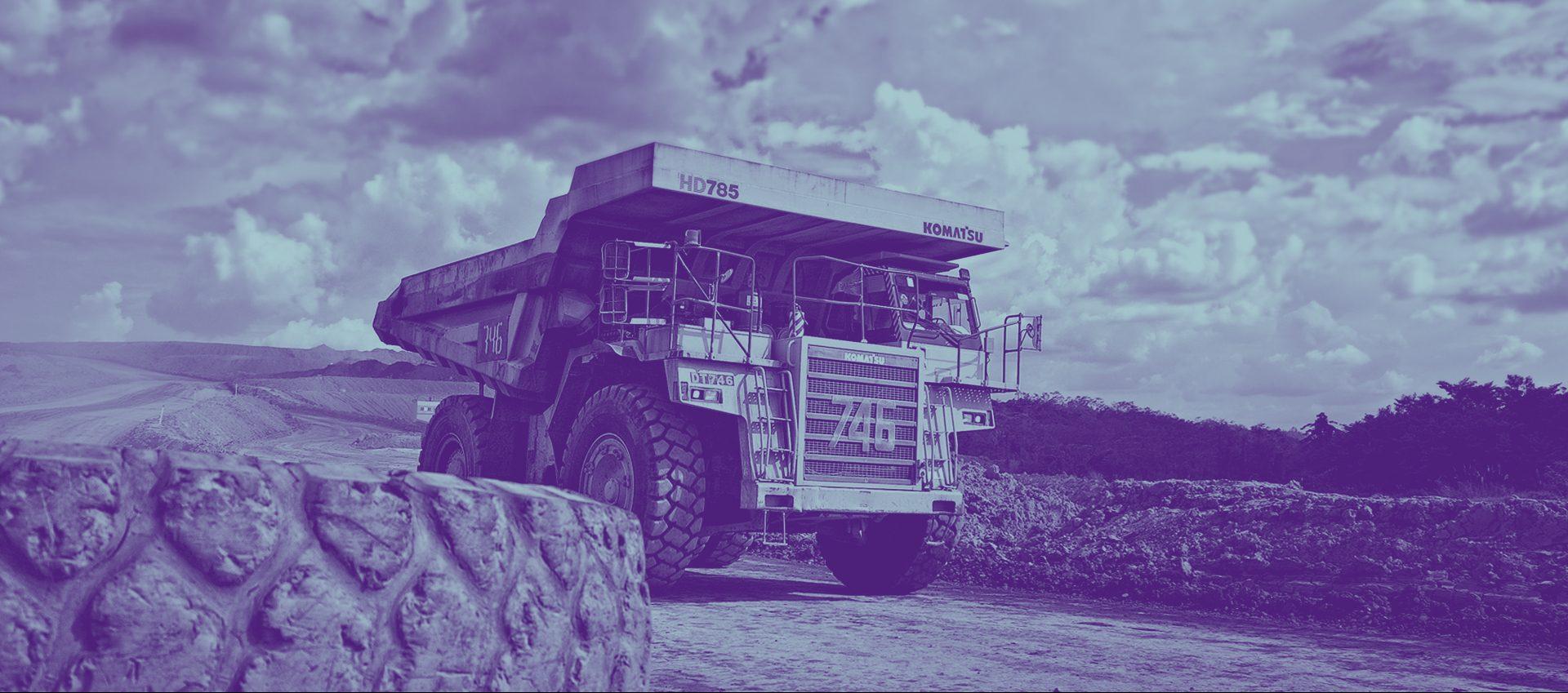 generic mining truck CP 268