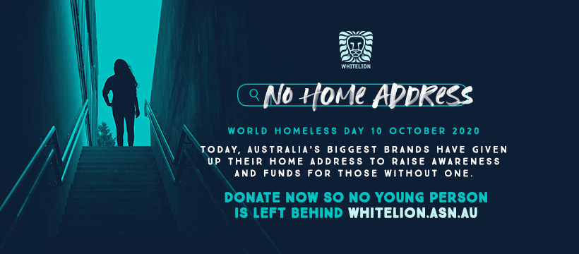 #NoHomeAddress campaign for World Homeless Day